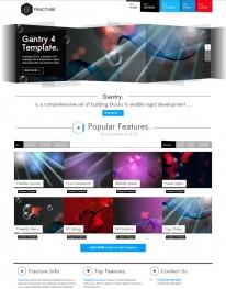 Template Joomla para Fotógrafos e Fotografias Fracture 3.6