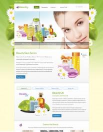 Template Joomla para Beleza e Cosméticos Beauty 3.2.1