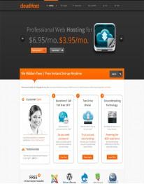 Template Joomla para Hospedagem Web cloudHost 3.2.1