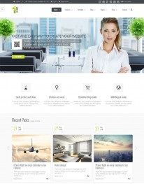 Template Joomla Empresarial e Corporativo All In One 3.3