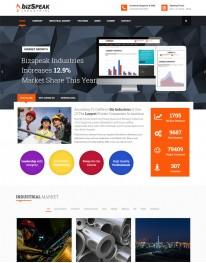 Template Joomla para Industrias e Empresas BizSpeak