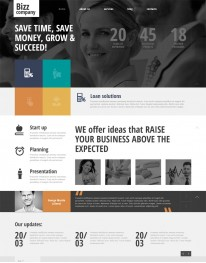 Template Joomla para Empresas e Instituições Bizz Company
