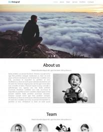 Template Joomla Fotógrafos, Fotografias Derfotograf One Page