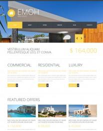 Template Joomla Empresas, Instituição e Imobiliárias Emoh