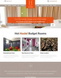 Template Joomla para Agencias de Turismo Hot Hostel