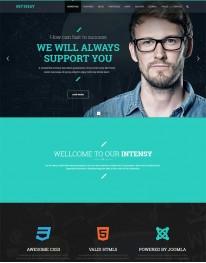 Template Joomla para Empresas e Corporações Intensy