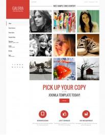 Template Joomla Fotógrafos e Fotografias JP Galeria