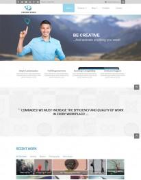 Template Joomla Empresas e Instituições JUX Creative
