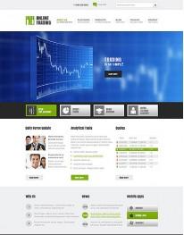 Template Joomla para Empresas e Negócios Online Trading 3.2