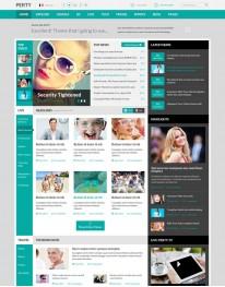 Template Joomla Notícias para Blog de Noticias SJ Perty 3.3