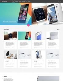 Template Joomla para Tecnologias e Web Desing TechNews