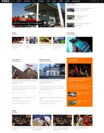 Template Joomla Noticias e Entretenimento JUX Times