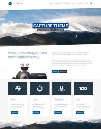 Template Joomla para Fotógrafos e Fotografias Capture