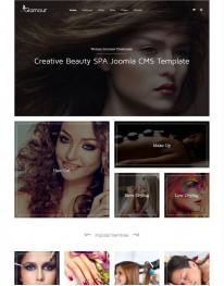 Template Joomla para Moda e Mundo Fashion Glamour 3.3