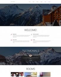 Template Jooomla para Hotéis e Turismo Ski Hotel 3.4