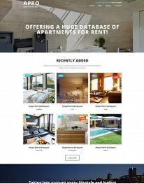 Template Joomla para Empresas Imobiliárias APRO 3.3