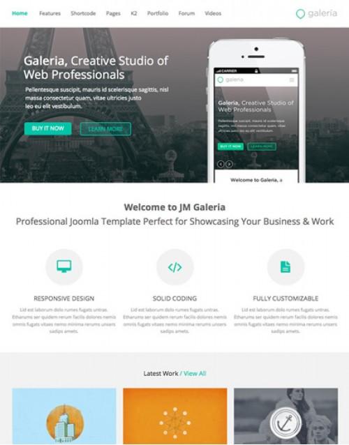 JM Galeira 3.1 e 2.5 recomendado para web design