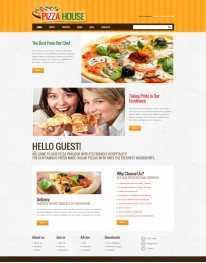 Template Joomla Pizzarias e Restaurantes Pizza House 2.5