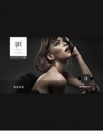 Template Joomla para Moda e Mundo Fashion Spirit 3.0