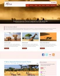 Template Joomla Viagens e Turismo Africa 3.x