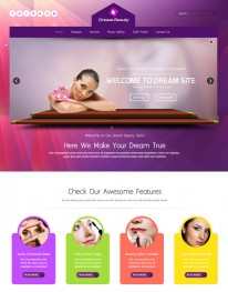 Template Joomla SPA Beleza Dream Beauty 3.x