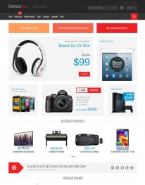 Template Joomla Virtuemart Computer and Eletronic Store 3.x