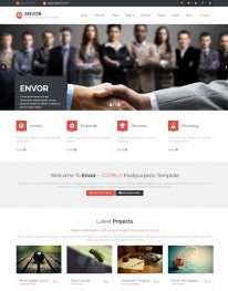 Template Joomla Empresas Corporativo Envor 3.x