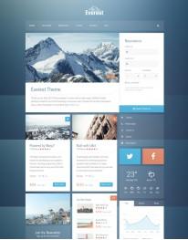 Template Joomla Turismo Viagem Everest 3.x
