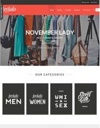 Template Joomla e-Commerce Ferado 3.x