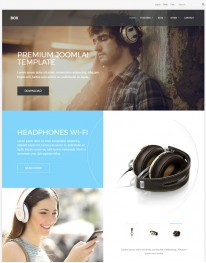 Template Joomla Virtue Mart GKBox 3.x