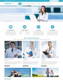 Template Joomla Clinicas Hospitais Healthcare 3.x
