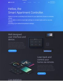 Template Joomla Tecnologia, Informatica Helios 3.x