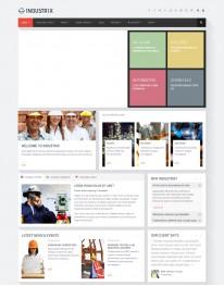 Template Joomla Indústrias e Fabricas Industrix 3.x