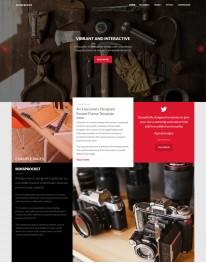 Template Joomla Fotos e Fotógrafos Iridescent 3.x