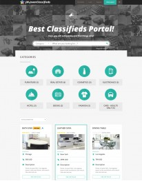 Template Joomla Classificados Joomclassifieds 3.x