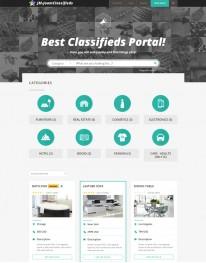 Template Joomla Classificados Joomclassifieds 3.x