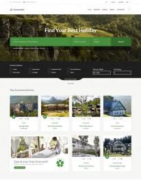 Template HTML5 Negócios Imobiliários,compra, venda Accommodo