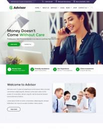 Template HTML5 Acessórias em Negócios Profissionais Advisor