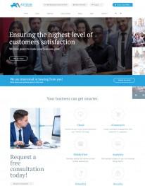 Template HTML5 Acessórias em Negócios Advisor Consultancy
