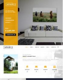 Template HTML5 Imobiliárias Imoveis Novos Apart Villa