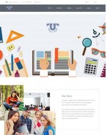 Template HTML5 Cursos, Faculdades e Treinamentos Aquarius