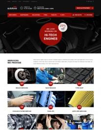 Template HTML5 Oficina Mecânica Para Automóveis Auto Love