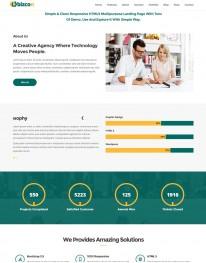 Template HTML5 Sites para Acessórias em Negócios Bizcon