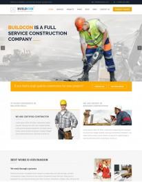 Template HTML5 Construtoras e Construção Civil Buildcon