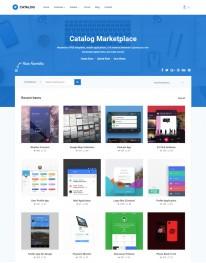 Template HTML5 Web design,  Desenvolvedores de Web Catalog