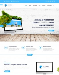 Template HTML5 Agência de Publicidade e Marketing Chelsea
