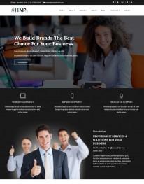 Template HTML5 site para  Assessorias em Negócios Chimppro