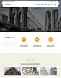 Template HTML5  Construtoras e Construção Civil Constr