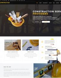 Template HTML5 Construtoras e Construção Civil Construct