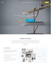 Template HTML5  Negócios Corporativos, One Page Daisy